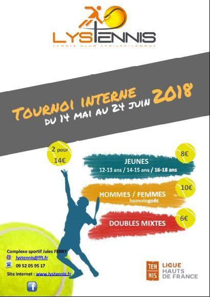 Tournoi interne lys tennis - Lys lez lannoy tennis de table ...